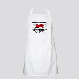 Famous Last Words BBQ Apron